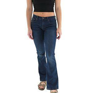 HENRY & BELLE Micro Flare Whiskered Jeans #BI20